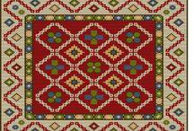 Geleneksel kilim&halı motifleri