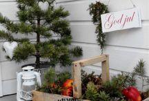 Tuin ideeën winter / Leuke ideeën voor een wintertuin