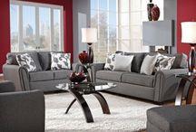 Interior - Grey & Red