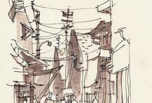 A_urban sketching