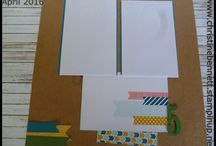 Scrapbooking / layouts done or ideas for Class