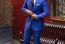 His suit!!!