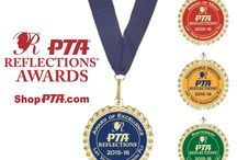 PTA Reflections Awards / Our line of 2015-16 PTA Reflections awards.  Available at ShopPTA.com