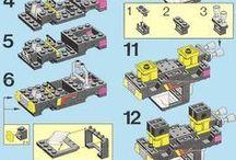 Lego bouwtekeningen