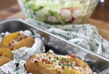 Kartoffel gefüllt