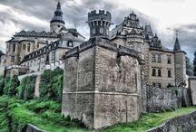 Castles and Chateaux / Visited 2013 a 2014 Czech republic  Červený Újezd Mělník Sychrov Frýdlant Lemberk Zákupy Švihov Klenová Velhartice Rábí Kozel Manětín
