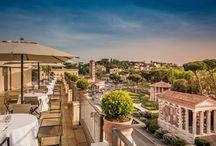Ristoranti, Cucina mediterranea, food, chef, cena romantica, roofgarden / CIRCUS ristorante all'Hotel Fortyseven. Cena Romantica, nel centro di Roma, con vista mozzafiato sui Templi antichi