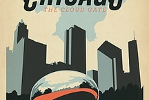 Chicago Graphics / Inspiration Board | Chicago-related designs