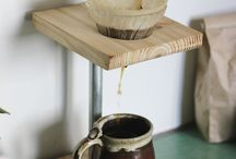 Pour over coffee stands