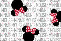 Minnie e Mickey mouse
