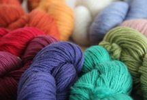 Embrace / Reywa Fibers' 100% Tibetan yak down yarn...and beautiful things knit with it!