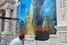 Wall painting GORGONA (ARTKLASIK) / WWW.Artklasik.seznam.cz