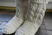 háčkovanie - rukavice, rukávniky, ponožky, návleky