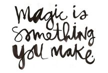 ℭreate §omething / MAGIC is (so) something you make!