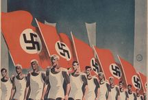 History - Nazi Propaganda / The Nazi propaganda was extremely powerful. Just have a look at this collection.  Note: I do not support the thoughts of the Nazi regime!