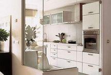 Cozinha de vidro