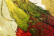 Dragons&sillmarilion