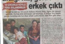 Sıradışı Gazete Küpürleri / Gazetelere yansıyan ilginçlikler