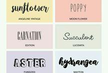 scrap fonts