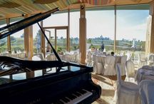 Music! / An extraordinary music room with large windows overlooking the valley, up to the sea, is home to a Fazioli grand piano, for innovative concerts, wine tastings with live music, and also for piano master classes, wine tasting experiences and events that well combine music and wine.