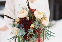Winter Wedding Bouquets / Browse seasonal bouquet options in various colors and blooms.