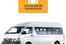 Cancun Airport Transportation / Our fleet of Vans and Sprinters #Cancun #Transportation