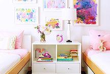 Kid Room Decor + Ideas