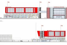 Emirates Old Trafford Hotel / PCE Ltd were appointed by Galliford Try Construction to design and build a structural hybrid frame for a seven storey hotel for Hilton Garden Inns at the Emirates Old Trafford ground in Manchester, home of Lancashire County Cricket Club.