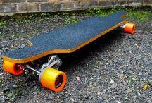 DIY Motorized Skateboards