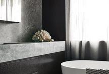 Concrete & Black