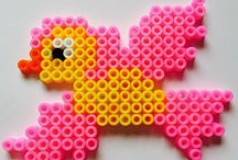 Loom bands and fuse bead patterns