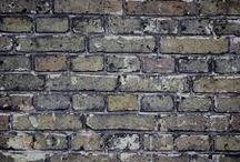 Texturas de tijolos