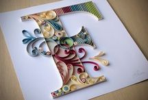 lettere Quilling