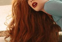 red hair nice !!