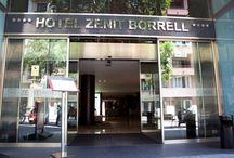 Zenit Borrell, Barcelona / El Zenit Borrell**** está situado en el barrio del Eixample de Barcelona, a 15 minutos a pie del elegante paseo de Gracia. Ofrece habitaciones modernas e insonorizadas, equipadas con conexión Wi-Fi gratuita y TV vía satélite. Hotel Zenit Borrell, Comte Borrell, 208 08029, BARCELONA, España Telf: 934525566 Email: borrell@zenithoteles.com