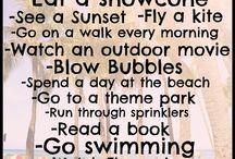 Surviving the School Holidays!