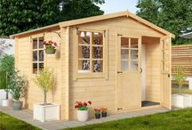 Summer Retreats / English summerhouses genuinely made for great living space outdoors.