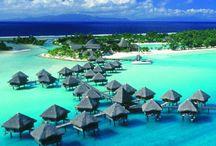 Huttes Polynésie