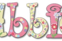 Custom Wall Letters / by Sweet Retreat Kids