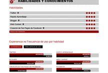 Mis Currículums Infográficos / Currículum Infográfico