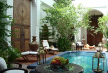 Slice of Morocco / Plans for the courtyard