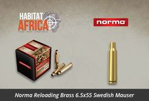 Reloading Brass / Habitat Africa offers a range of reloading brass from top manufacturers including Hornady, Lapua, Sako, Norma, Nosler and other reloading brass suppliers