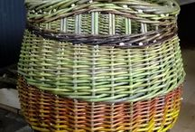 Willow baskets - colour