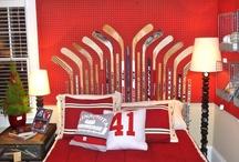 Elliott Hockey Bedroom / by Shannon Elliott Montpellier