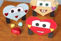 Preescolares san valentin