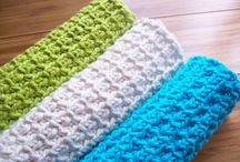 Crochet - cloths, potholders, coasters