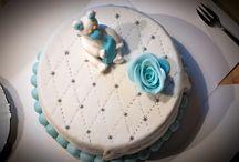 Idée gâteau de naissance / Naissance / Baptême / Communion