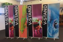 V-Stand Banner Stands