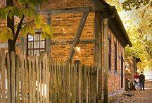 Old European Barns