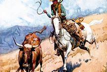 """Wild West / """"Dans l'Ouest, lorsque la légende devient la réalité, c'est elle qu'on imprime.""""  John Ford  (The man who shot Libery Valance)"""